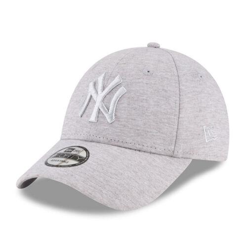 New York Yankees Cap MLB Baseball New Era 9Forty Cap Kappe Heather Grey Jersey