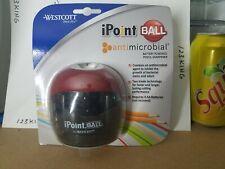 New Listingwestcott Ipoint Ball Desk Apple Battery Powered Pencil Sharpener Redblack