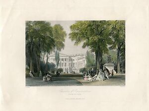Chambers-Of-Representatives-From-The-Park-Brussels-Engraved-By-Bradshaw