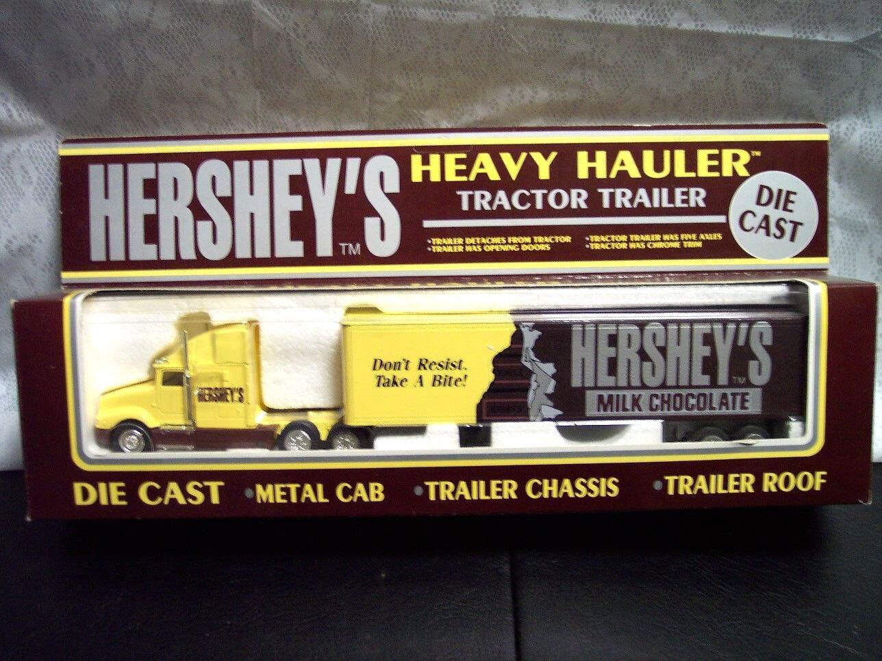 K-Line Hershey's Milk Chocolate Tractor Trailer 1 48 Scale Die Cast. LOOK INSIDE