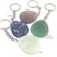 miniature 5 - NEW 20 x Gemstone Keyrings Chakra Reiki Healing Quartz Jade etc WHOLESALE