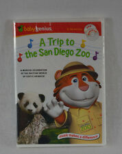 Baby Genius A Trip to the San Diego Zoo DVD Bonus CD (Sealed) New Great Gift!!