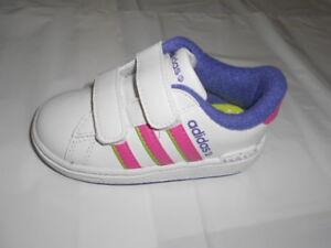 5602caa9ec4 New Adidas Neo Infant Kids Derby II Trainers U44517 GIRLS | eBay