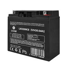Gelbatterie LX12200 12V 20Ah Akku Gel Akkus Batterie Wartungsfrei Battery