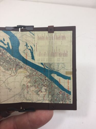 1//6 DRAGON MAP BOARD CASE WITH DETAILED GERMAN MAP WW2 BBI DID 21ST CENTURY