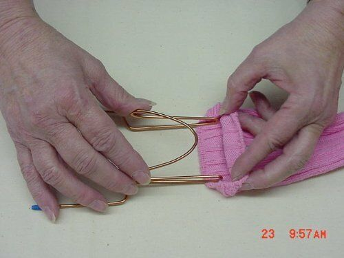 2 sock facile Machine à Broder frettage aide//Hoops