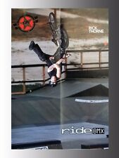 """FreeAgent Rick Thorne, Ride BMX Mag. Collectible Poster 16"""" x 20"""""""