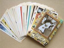 Vintage Postcards Advertising Album Poster Old Greeting Post Cards