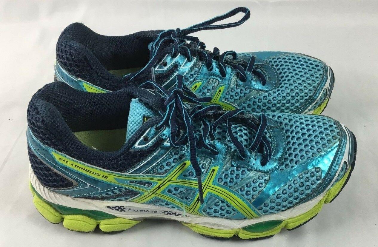 Asics Gel Cumulus 16 Womens Running shoes Sz 7.5 Fluid Ride