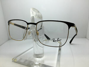 521e63efda Image is loading RAY-BAN-RX-6363-2890-54MM-GOLD-TOP-