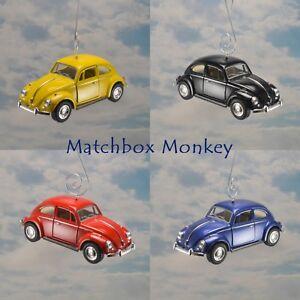 Details About 67 Custom Volkswagen Beetle Christmas Ornament Vw Bug 1 32 Rare Adorno Herbie