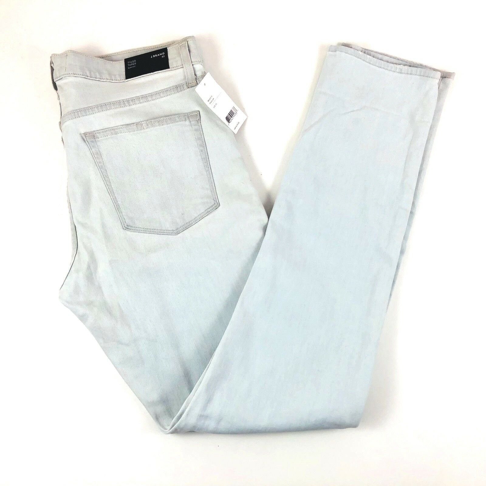 e1dd2a03 J Brand Tyler Slim Stretch Wash Denim Jeans Mens 33x34 NWT Light Taper  nfhxiy5423-Jeans