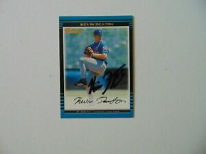034-New-York-Mets-034-Kevin-Deaton-Hand-Signed-BOWMAN-Trading-Card-Todd-Mueller-COA