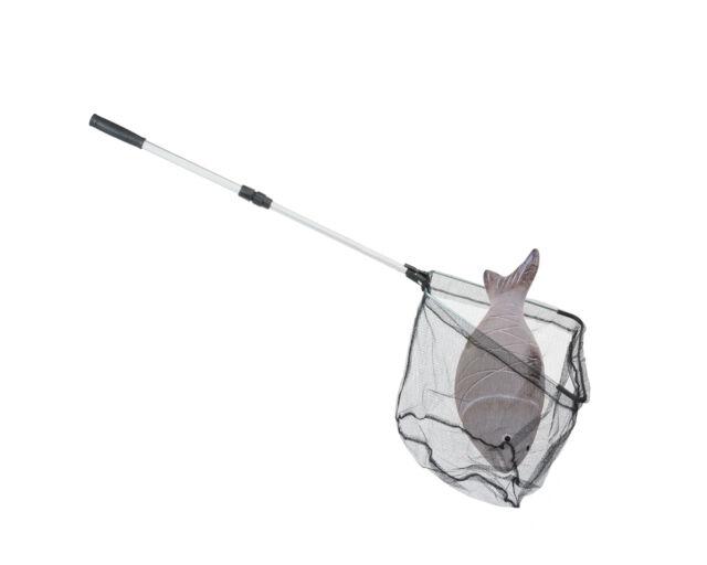Angel kescher alu teleskopstiel cm klappbar günstig kaufen ebay