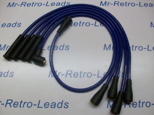TRIUMPH TR7 tarde tipo de alto rendimiento ignición conduce en 8MM Azul Calidad conduce