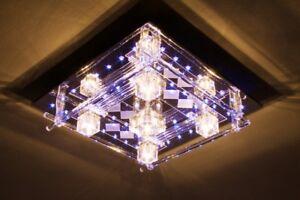 led deckenleuchte mit fernbedienung leuchte lampe deckenlampe deckenleuchten ebay. Black Bedroom Furniture Sets. Home Design Ideas