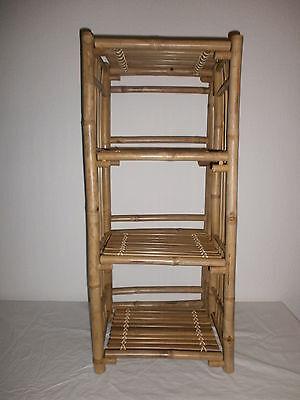 Bambusregal Badregal  Pflanzregal Bambusmöbel  Standregal