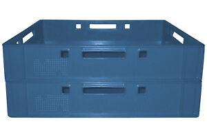 Adroit 2 Pièces Caisse Fleischer Cateringkiste Boîte De Rangement E1 60x40 Bleu Gastlando-ox E1 60x40 Blau Gastlando Fr-fr Afficher Le Titre D'origine
