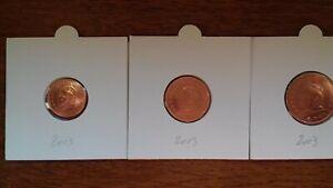 vatican 2003 pièces de 1 2 5 cents  II