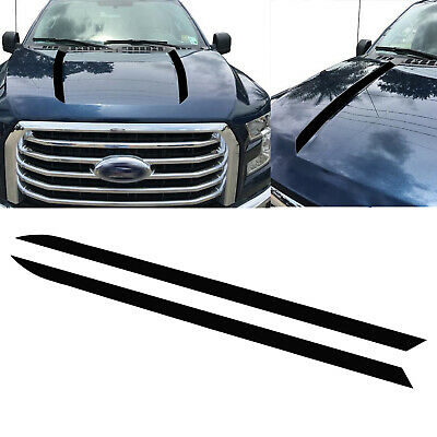 2010-2015 Camaro Faded Cowl Stripes Hood Spears Decals Fits: Camaro