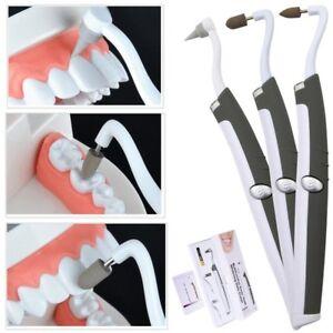 Sonic LED Teeth Whitening Kit Eraser Polisher Tartar Plaque Oral Stain Remover