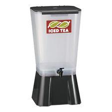 Tablecraft 5 Gallon Black Beverage / Juice Dispenser