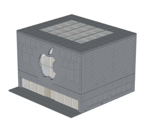 Computer Store Instructions For Lego Shop Apple Modular Building