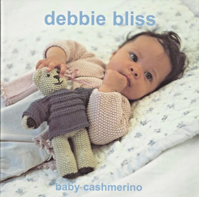 Debbie Bliss Baby Cashmerino Knitting Yarn Pattern Book With 11