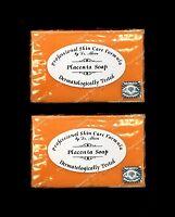 Dr Alvin Placenta Soap 2 X 135g Brand & Sealed (pack Of 2) 100% Genuine