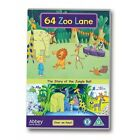 64 Zoo Lane The Story of Jungle Ball DVD Region 2 Discs 1 Animation N
