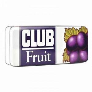 Retro-Stile-Jacobs-Club-Metal-Storage-Biscuit-Tin-Box-Contenitore-Frutta-Arancione