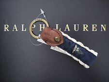 NEW RALPH LAUREN POLO Nautical Flag and Rope FOB Key Chain Keychain Key Ring