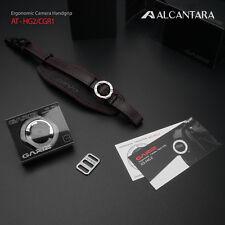 Gariz Alcantara Hand Strap Grip DSLR Camera Black Red AT-HG2/CGR1 Plate XA-PC1