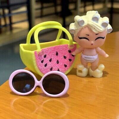 With Bag LOL Surprise Lil Sisters Dolls Eye Spy Baby goo-goo Color Change doll