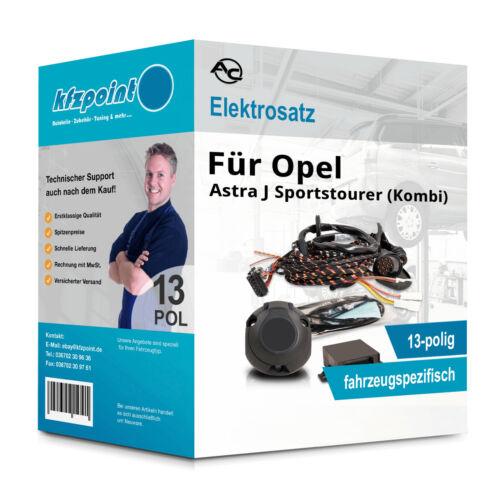 Für Opel Astra J Sportstourer 2010-2016 AC E-Satz 13polig fahrzeugspezifisch NEU