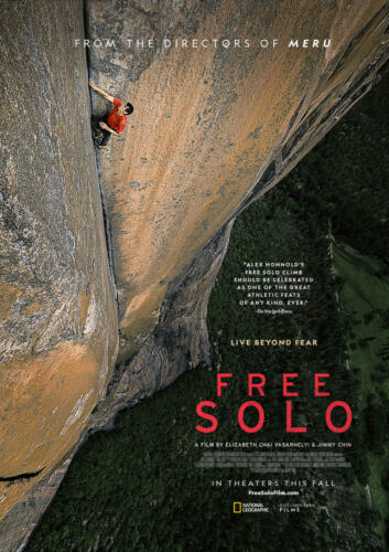 Art Poster Free Solo Movie Alex Honnold Solo Climb Yosemite Doc 32x48 Wall Y-455