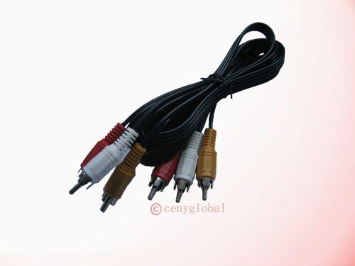 A//V 3 RCA Cable For TiVO /& Roku LT//HD//XD//XS 1080p//XDS Digital HD Media Streamer