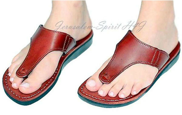 Leather Sandals Handmade Handmade Handmade with Leather Sole Conductive for Earthing Grounding a4267d