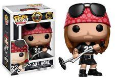 """Funko Pop Rock Guns N Roses Axl Rose #50 3.75"""" Vinyl Figure NIB"""