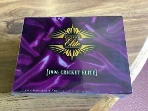 1996 Futera cricket Elite sealed factory box.