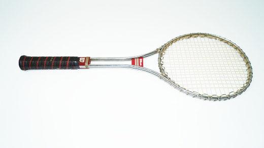 Wilson Steel Racchette da tennis racchetta ACCIAIO VINTAGE ORIGINALE l3 Racquet Pro Tour