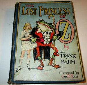 The-Lost-Princess-of-Oz-The-Reilly-amp-Lee-Company-1917-Hardcover-Illustrated