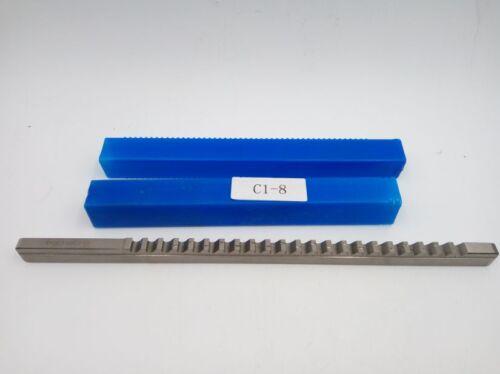 8mm Keyway Broach Cutter C Push Type Cutting Tool /& Shim CNC Metalworking