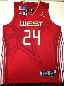 best sneakers 17855 498f6 Details about 2010 West Allstar Kobe Bryant Adidas Swingman Jersey NBA  Lakers #24