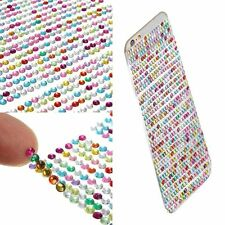 Self Adhesive Art Emulation Diamond Decal Stickers Rhinestone Crystal Bling