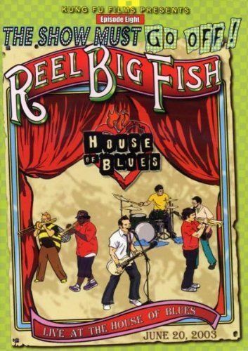 1 of 1 - Reel Big Fish: Live at the House of Blues DVD (2003)