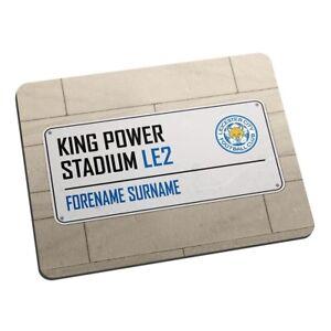 Leicester City Football Fridge Magnet Print Stadium Street Sign King Power