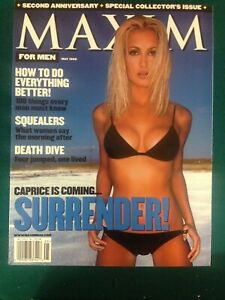 Maxim for Mae May 1999 Special Collectors Issue with Supplement