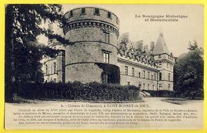 cpa-de-1927-SAINT-BONNET-de-JOUX-Saone-et-Loire-CHATEAU-de-CHAUMONT-la-GUICHE