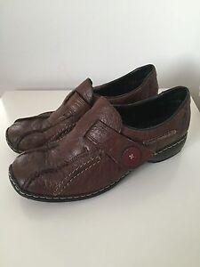 Dames 5 anti belle de stress Rieker marron chaussures 38 taille rOrnxp